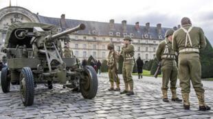 La fiesta de la Sainte Barbe (Santa Bárbara) tiene lugar en diciembre en los Inválidos, consagrada a la artillería.