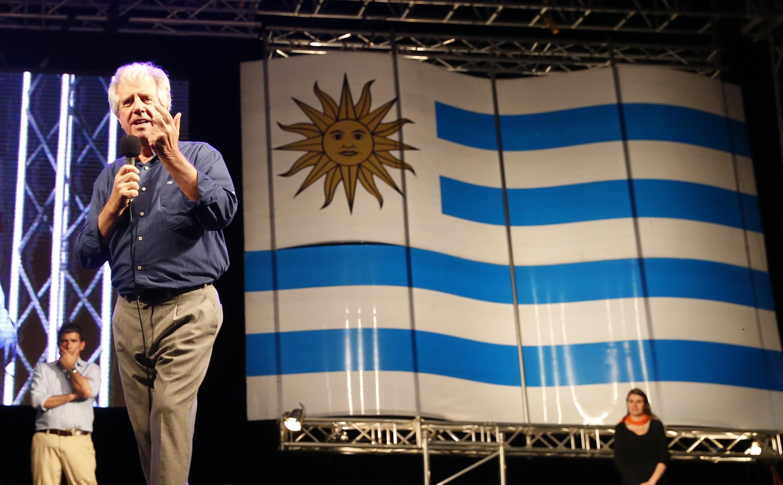 El expresidente y candidato del Frente Amplio, Tabaré Vázquez.