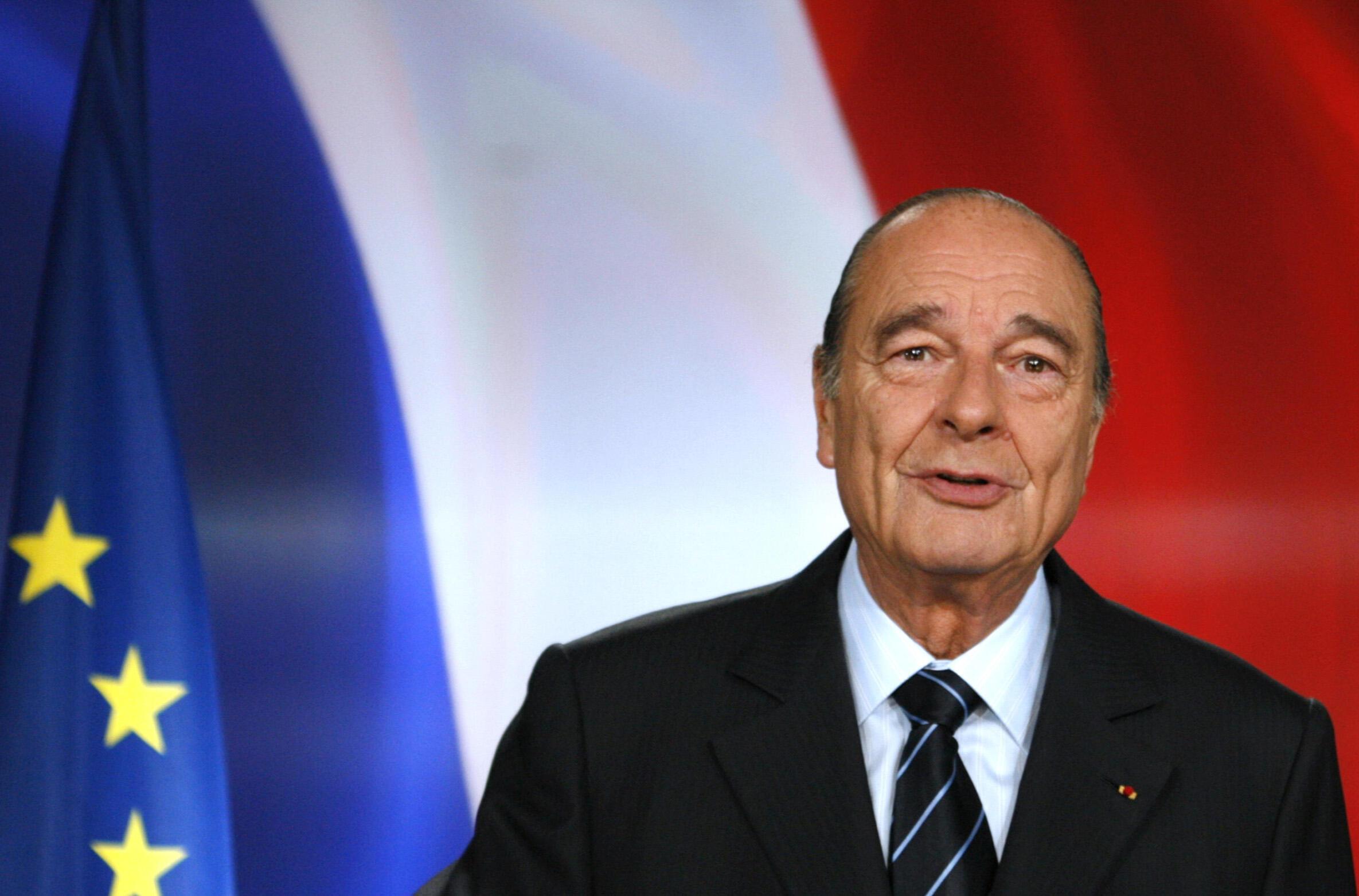 26/09/19- O ex-presidente francês Jacques Chirac morreu na manhã desta quinta-feira (26), aos 86 anos