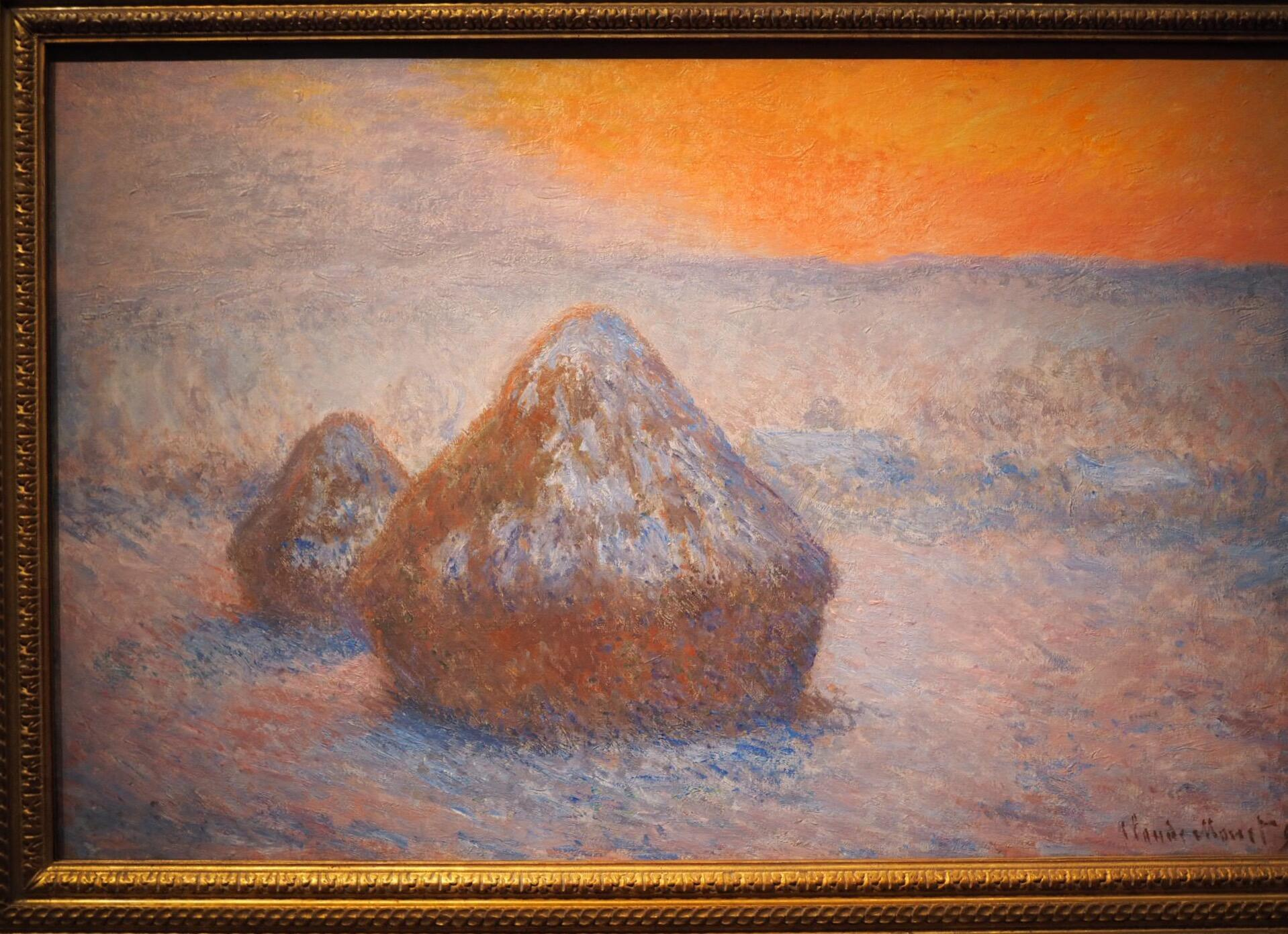 Claude Monet: worth a stack!