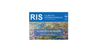 Couverture «Revue internationale et stratégique» n° 100, 2015.