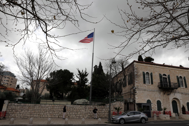 O antigo Consulado-Geral dos Estados Unidos em Jerusalém