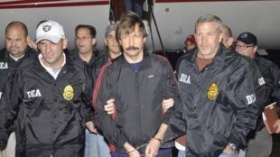 Viktor Bout, 43 ans, a été extradé mardi 16 novembre de Thaïlande, où il avait été arrêté en mars 2008 par des agents américains.