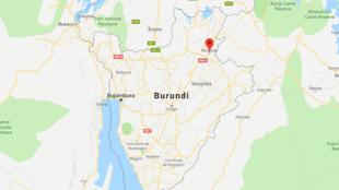 Tukio hilo lilitokea kama kilomita kumi na tano kutoka Muyinga, kaskazini mashariki mwa Burundi.