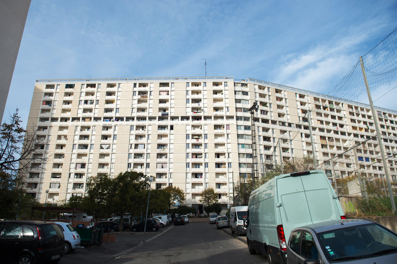 Une photo de la cité des Lauriers, à Marseille.