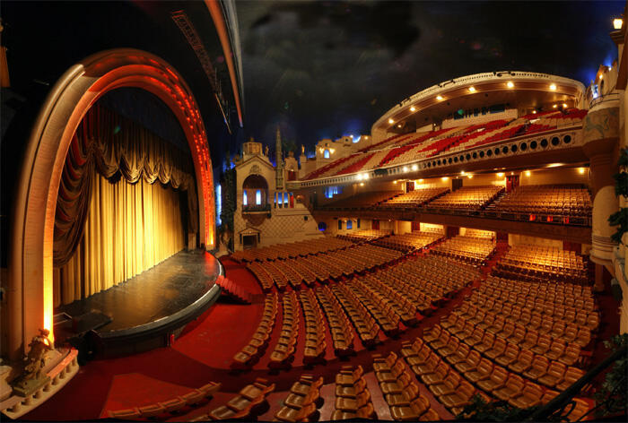 The Grand Rex movie theatre with its 2,700 seats and famed art deco architecture