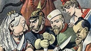 در قرن نوزدهم اروپایی ها با بستن پیمان های نابرابر چین را میان خود تقسیم کردند