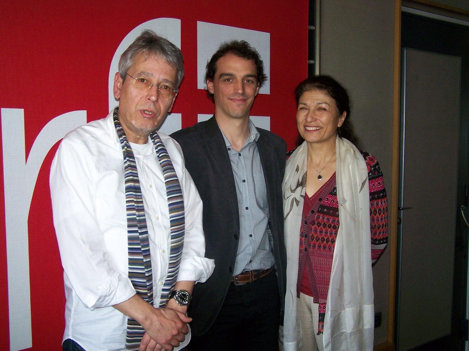 Jean-Yves Casgha, Laurent Bopp et Laurence Eymard