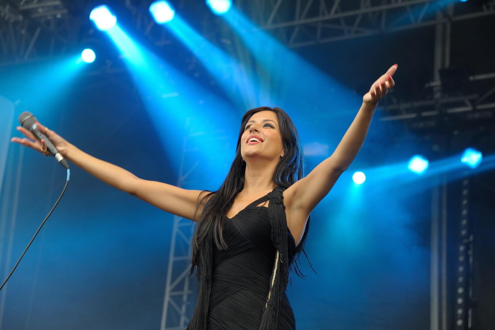 Ana Moura, cantora portuguesa.