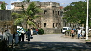 The old fort in Zanzibar city