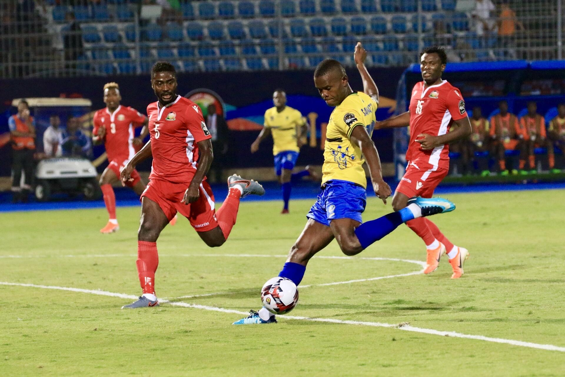 Tanzania skipper Mbwana Samatta gave his side a 2-1 lead in the pulsating encounter agaisnt Kenya who ultimately won 3-2.