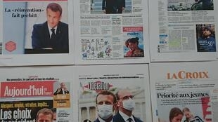 Diários franceses  15 07 2020