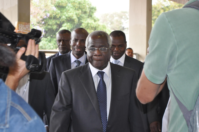 Afonso Dhlakama, líder da Renamo