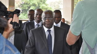 Afonso Dhlakama, leader of Mozambique's Renamo opposition party
