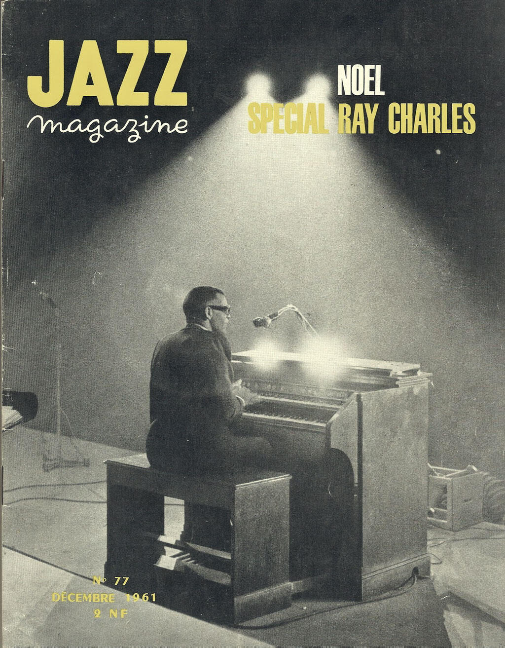 Ray Charles - Jazz Magazine - Décembre 1961.