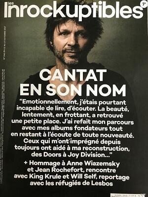 La revista Les Inrockuptibles desató una ola de críticas con esta portada, en 2017.