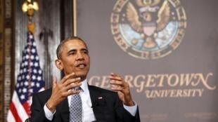 Encontro em Washington do presidente americano Barack Obama e líderes Golfo.