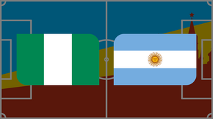Coupe du monde 2018: Vivez Nigeria - Argentine en direct