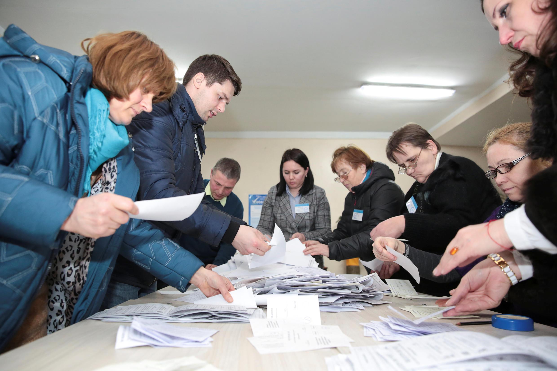 Первое место заняла партия социалистов действующего президента Игоря Додона