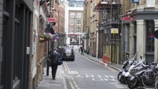 Une rue du quartier de Shoreditch, à Londres.