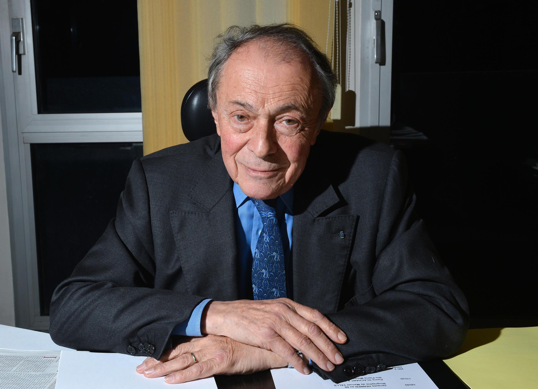 Michel Rocard, em Paris. 2012