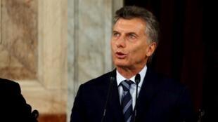 O presidente argentino, Mauricio Macri, aparece na lista do escândalo dos paraísos fiscais.