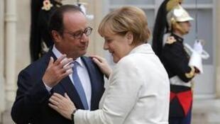 François Hollande et Angela Merkel ont préparé, ce jeudi 15 septembre 2016, le sommet de Bratislava sur l'avenir de l'Europe.