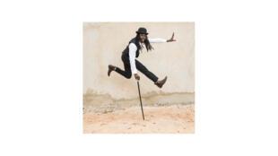 Le chanteur sénégalais Faada Freddy, pris en photo à Dakar en 2014.