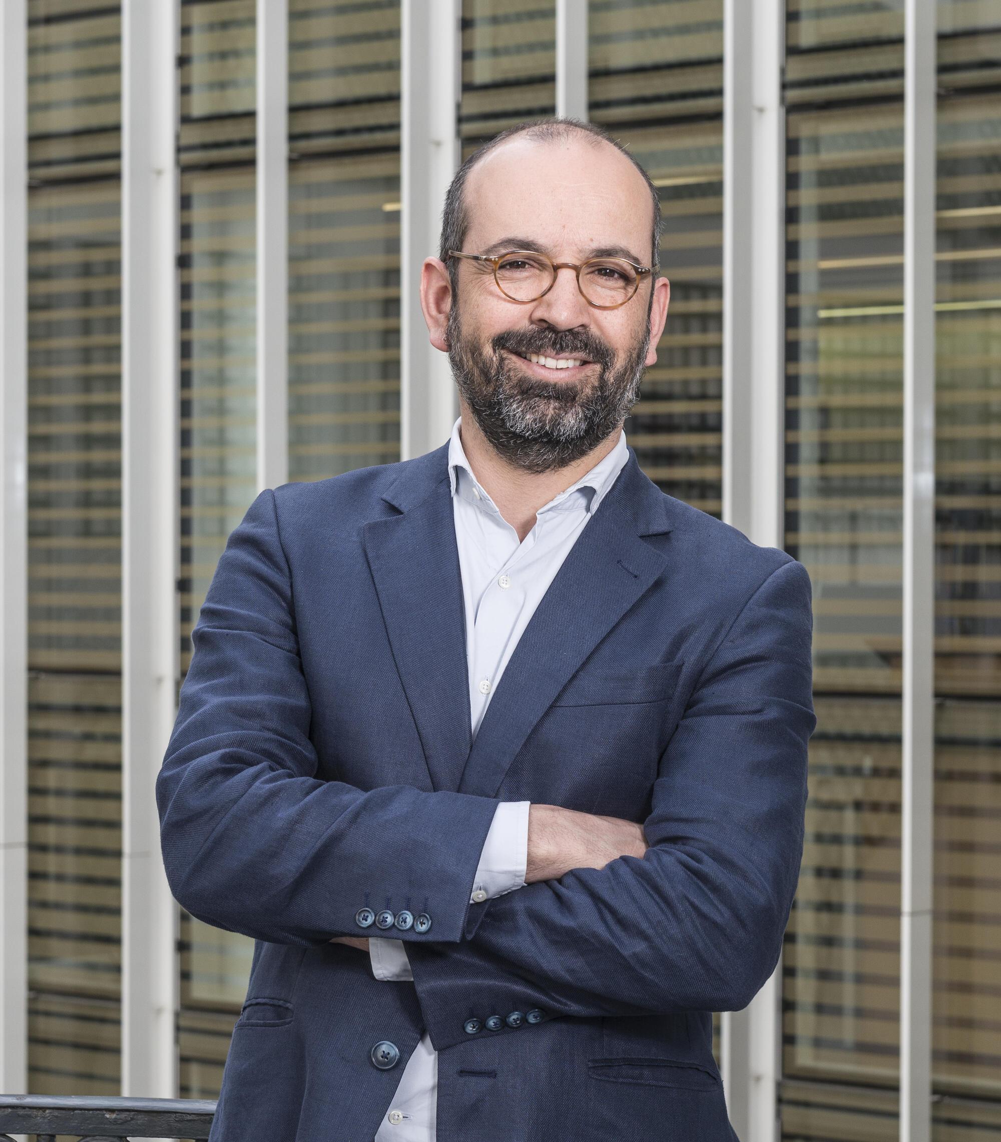 Miguel Magalhães, director da Fundação Calouste de Gulbenkian em Paris