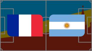 Vivez en direct France-Argentine