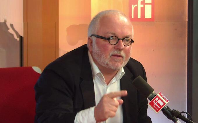 Pierre-Louis Basse, journaliste, écrivain, et conseiller à l'Elysée.
