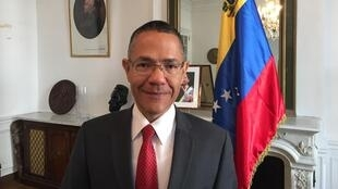 Le ministre vénézuélien de la Culture, Ernesto Villegas.