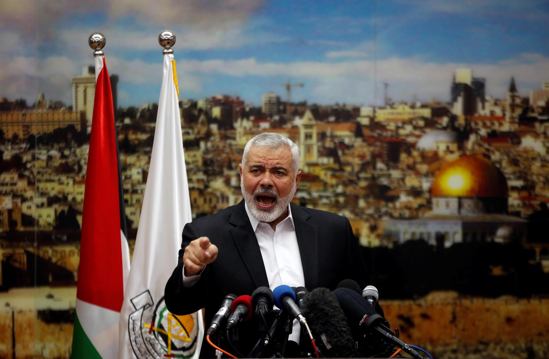 O líder do Hamas, Ismaïl Haniyeh, convocou os palestinos nesta quinta-feira (7) a realizarem uma nova intifada.
