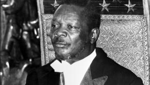 Jean-Bedel Bokassa, dernier empereur d'Afrique.