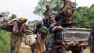 Wanajeshi wa DRC wakiwa katika Operesheni dhidi ya waasi wa ADF Mashariki mwa nchi hiyo.