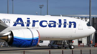 File photo of New Caledonia-based Aircalin Airbus plane