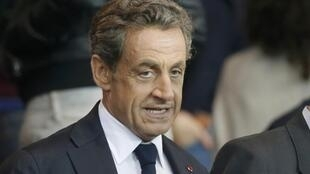 Nicolas Sarkozy in September 2014.