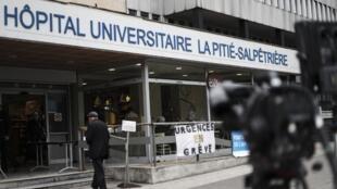 L'hôpital de la Pitié-Salpêtriere, théâtre d'une polémique qui gêne le gouvernement.