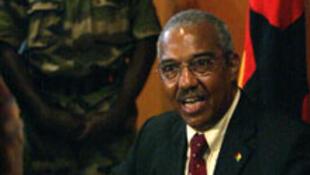 Henrique Rosa, antigo presidente interino da Guiné-Bissau.