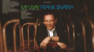 Pochette du tube «May Way» interprété par le chanteur américain Frank Sinatra dans les années 70.