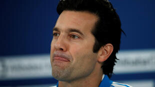 Santiago Solari, coach du Real Madrid.