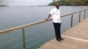 André Nzapayéké à Brazzaville (République du Congo).