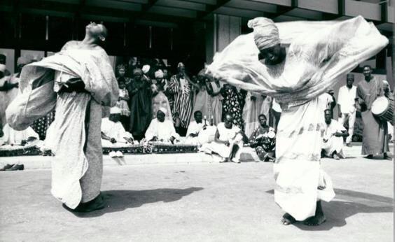 Aéroport de Dakar, avril 1966. Fonds Jean Mazel.