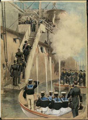 Акварель Анри Мейера, 1893