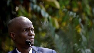 Le président haïtien Jovenel Moïse (image d'illustration).