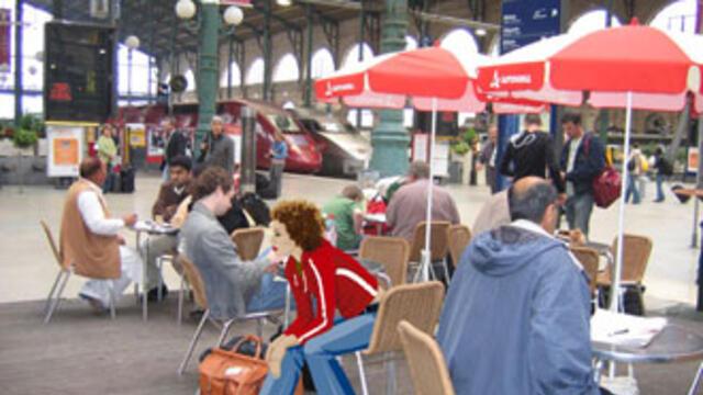 巴黎市中心设行人专用区是否推助房价涨(photo:RFI)