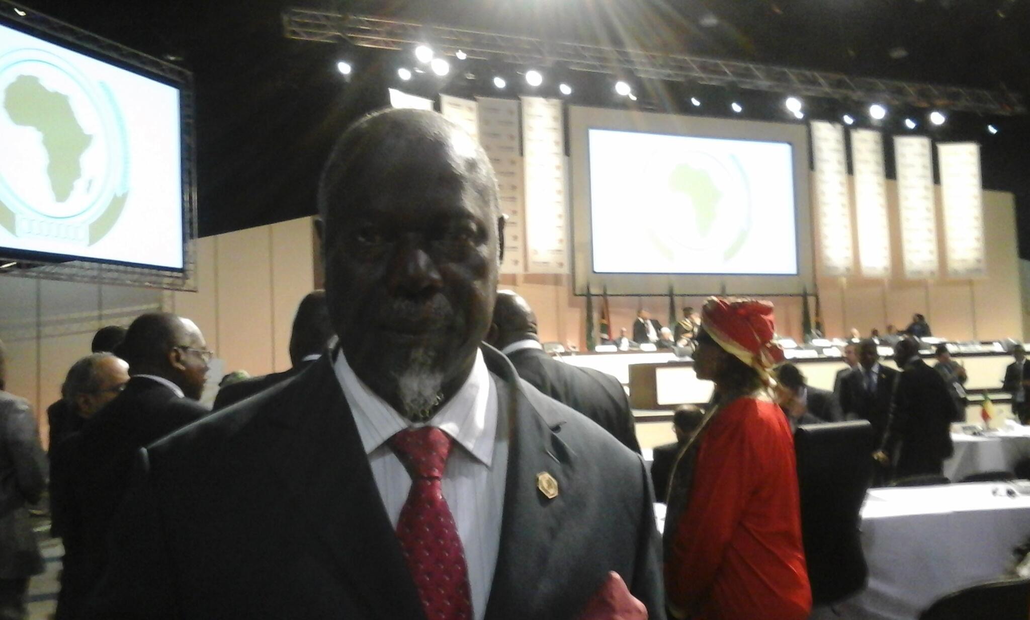 Mário Lopes da Rosa, ministro guineense dos negócios estrangeiros.