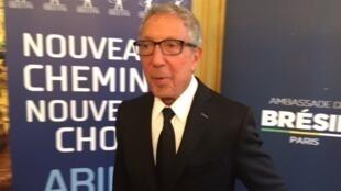 O empresário Abílio Diniz, em Paris.