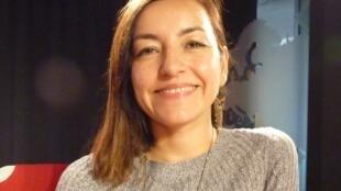 La actriz y directora de teatro chilena Gabriela Aranguiz en RFI