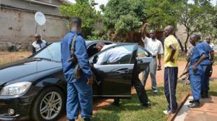 Sur les lieux de l'assassinat d'Hafsa Mossi, dans le quartier de Gihosha, dans l'est de Bujumbura, ce 13 juillet 2016.